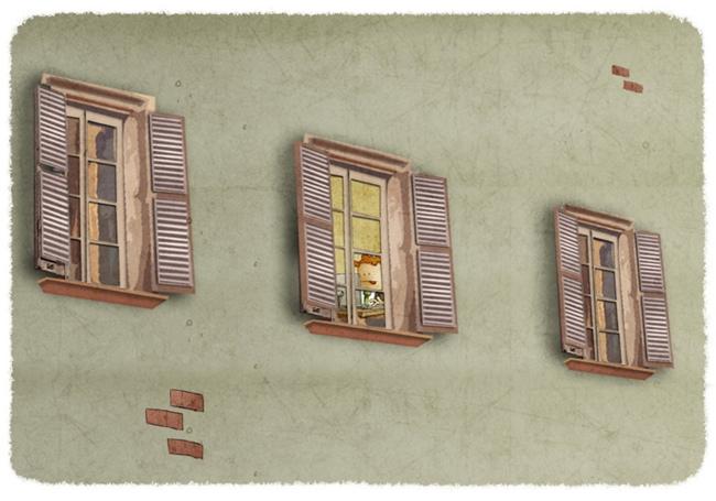 Tutto sui muri, finestre, facciate e parti annesse