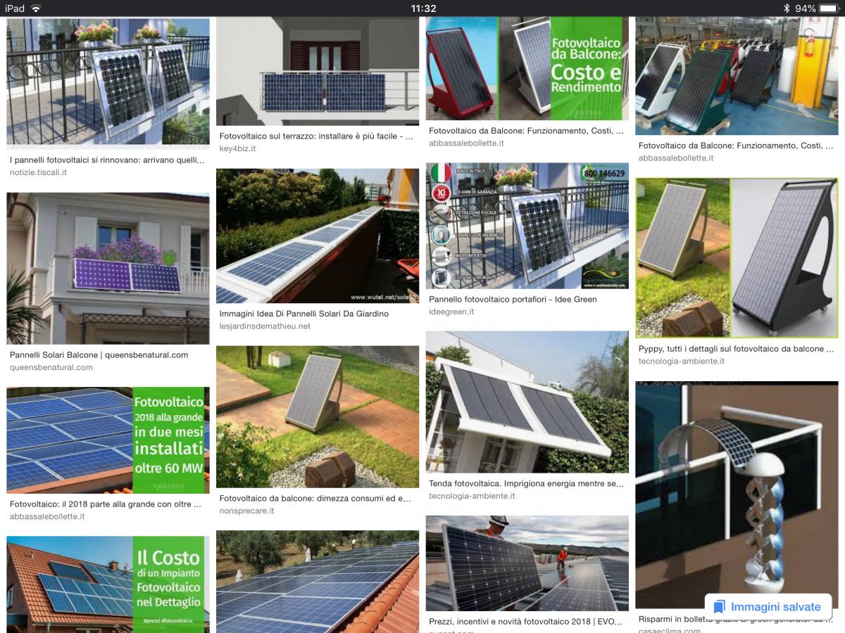 Vendere Energia Elettrica Da Fotovoltaico fotovoltaico da balcone