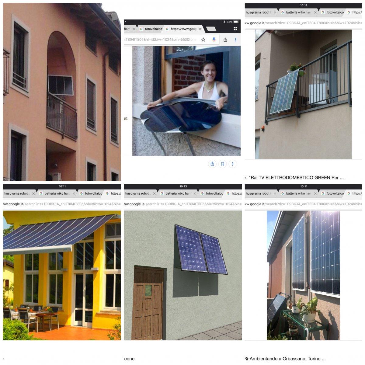 Pannelli Solari Termici Da Balcone fotovoltaico da balcone