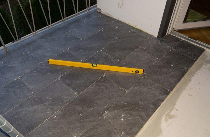 Rifacimento pavimentazione balcone in condominio