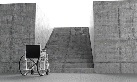 L'abbattimento delle barriere architettoniche necessita del permesso di costruire?