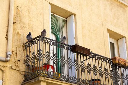 Parapetto balcone parte comune