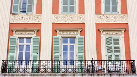 Colori facciate ville villa il gondo vista della facciata for Colore facciata casa campagna