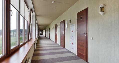 Il corridoio di accesso agli appartamenti è condominiale