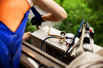 Motore del condizionatore e giardino di proprietà esclusiva