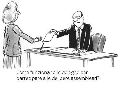 Come funzionano le deleghe per partecipare alle assemblee condominiali?