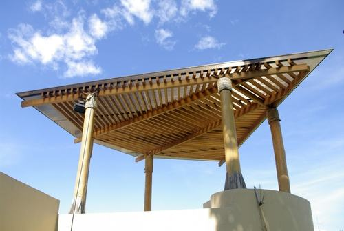 al gazebo in terrazzo se installato all\'interno di una area vincolata