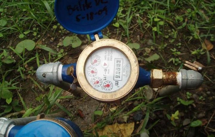 Le spese per la fornitura d'acqua non sono rimborsabili.