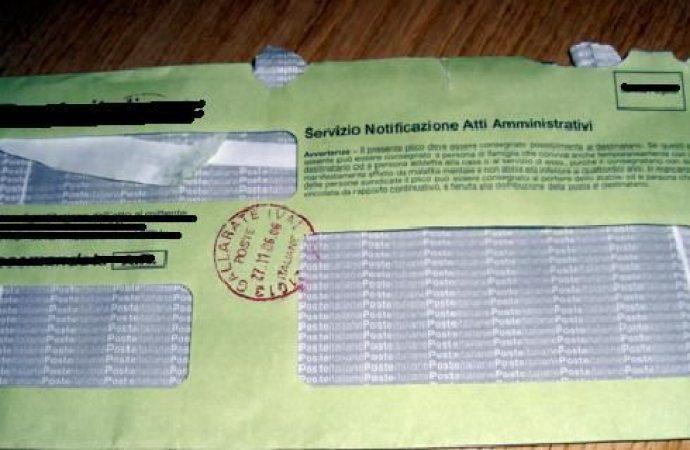 Raccomandate: se non c'è cassetta postale l'avviso non può essere lasciato sotto la serranda