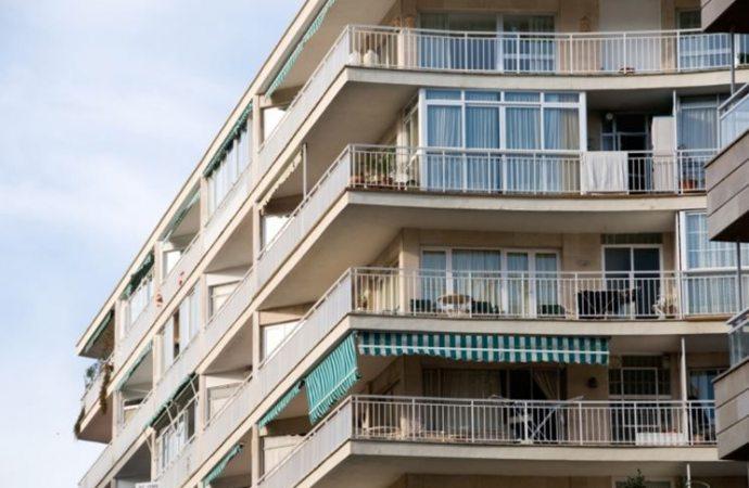 Armadio sul balcone