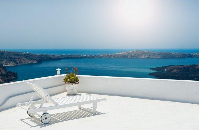 Stunning lastrico solare terrazza a livello contemporary design