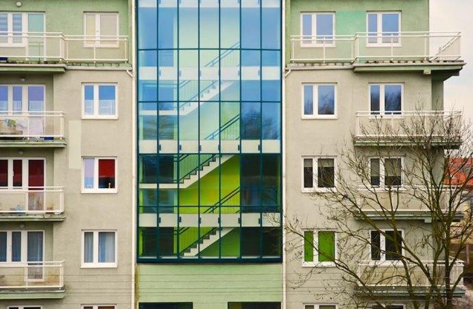 Parti comuni edificio in condominio