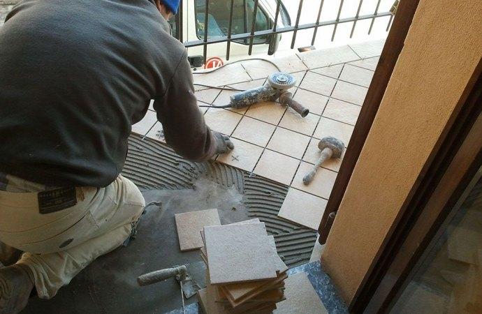 Sostituzione pavimentazione balconi e decoro del condominio