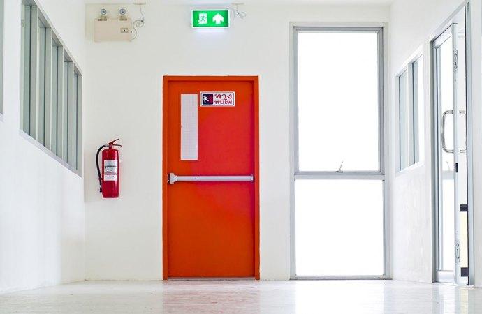 Installazione porte tagliafuoco in condominio