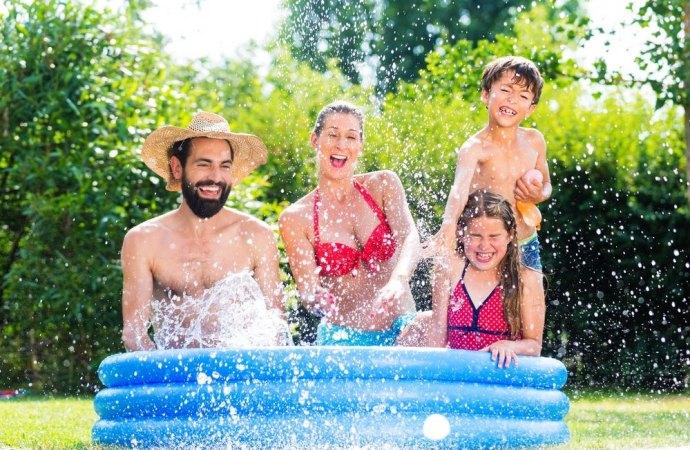 Si possono posizionare delle piscine gonfiabili sul terrazzo condominiale?