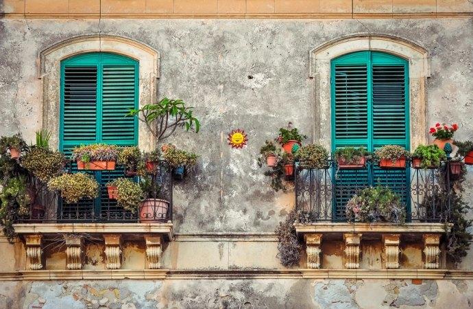 Cosa si può fare sul balcone di casa?
