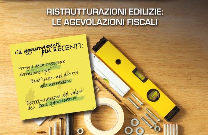 Guida per le agevolazioni fiscali per ristrutturazioni edilizie 2018