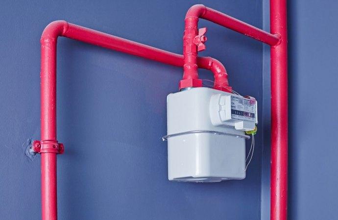 Installazione contatore gas su parete condominiale