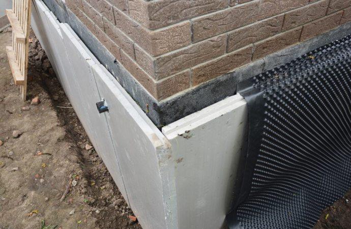 Impermeabilizzazione muri controterra