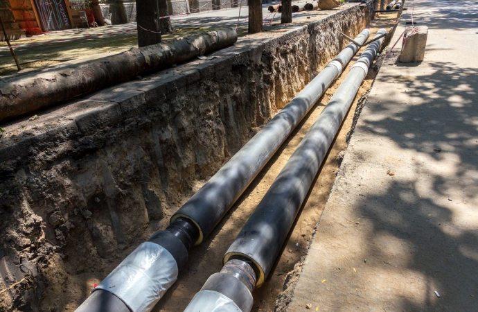 Distanza dei tubi dal confine