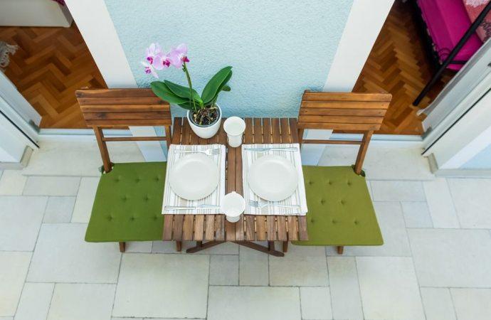 Posso mettere un tavolino nel mio balcone in condominio?